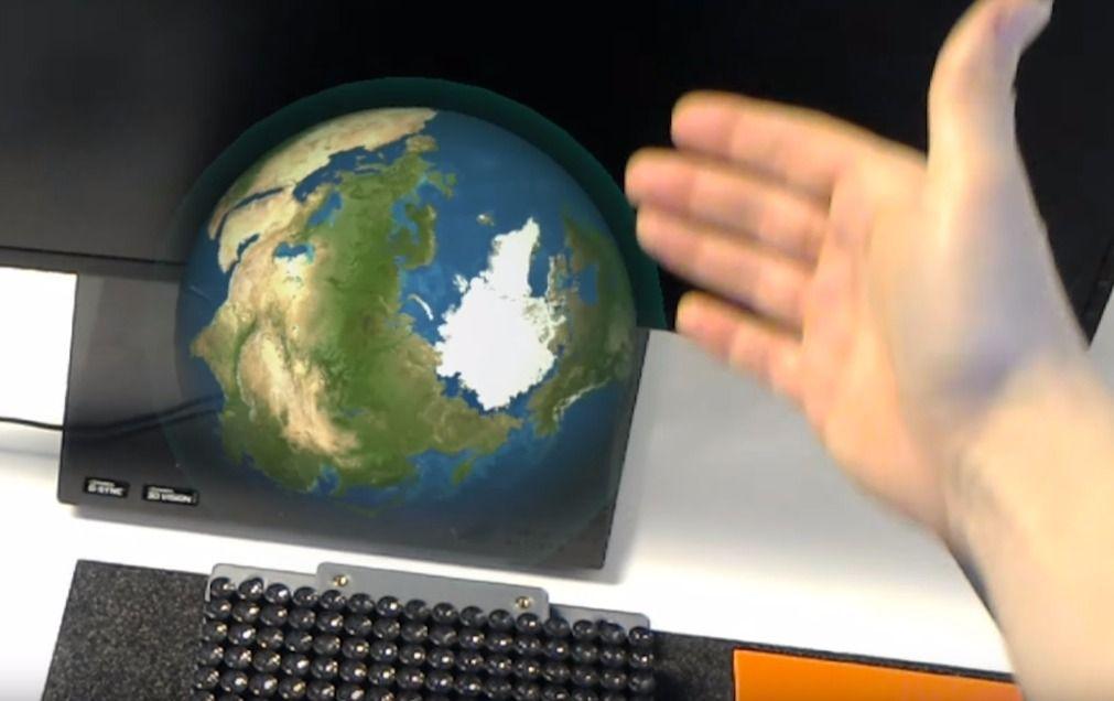 Ultrahaptics Algılayıcılarla Artırılmış Gerçeklik (Augmented Reality) Dokunulabilir Oluyor