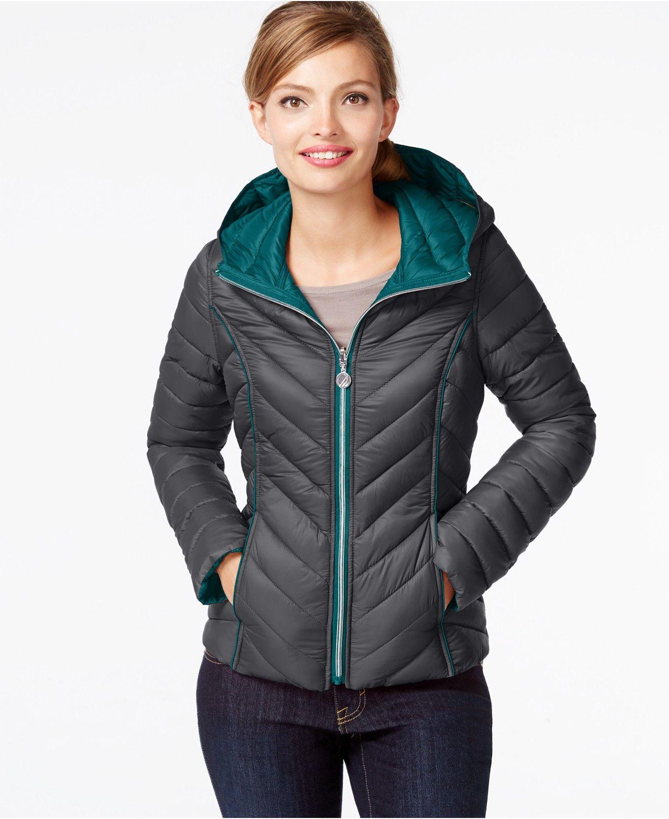Nautica Reversible Packable Down Coat Coats Women Macy S Packable Coat Down Coat Coats For Women [ 1616 x 1320 Pixel ]