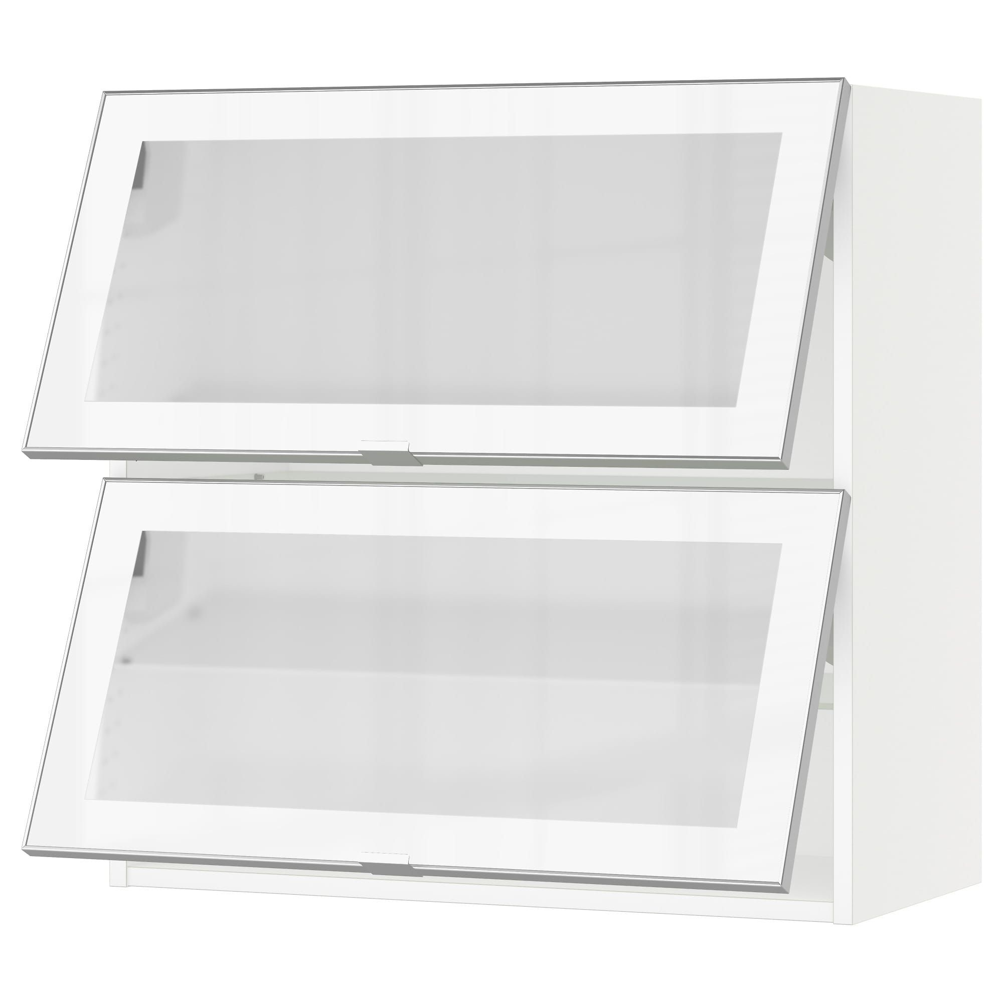 Ikea Us Furniture And Home Furnishings Kitchen Wall Cabinets Wall Cabinet Glass Shelves Kitchen