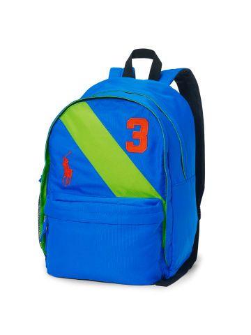 ab4680cec9c2 Large Banner-Striped Backpack - Children Bags - RalphLauren.com ...