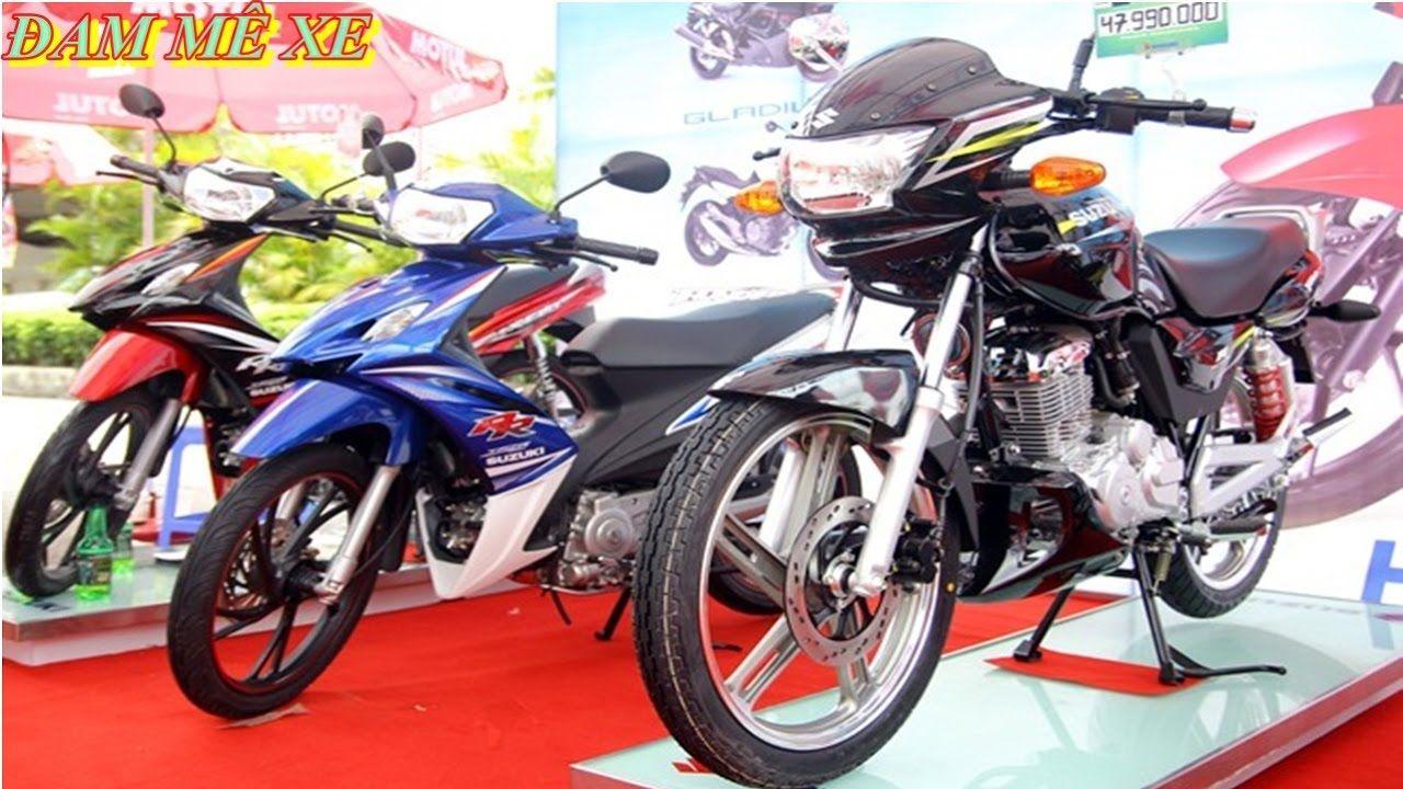 Top 5 Mẫu Xe Côn Tay Giá Rẻ Của Suzuki Dưới 50 Triệu Đồng