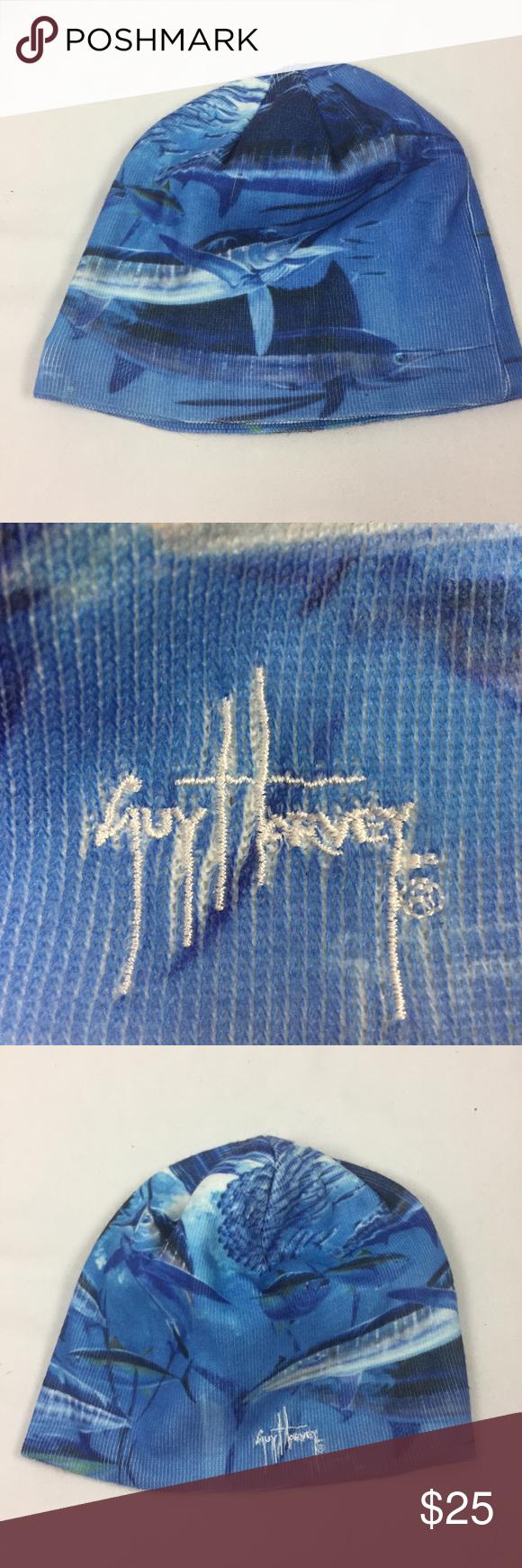 a6f8b0f60513e Guy Harvey Billfish Mural Beanie Guy Harvey Billfish Mural Beanie Guy Harvey  Accessories Hats