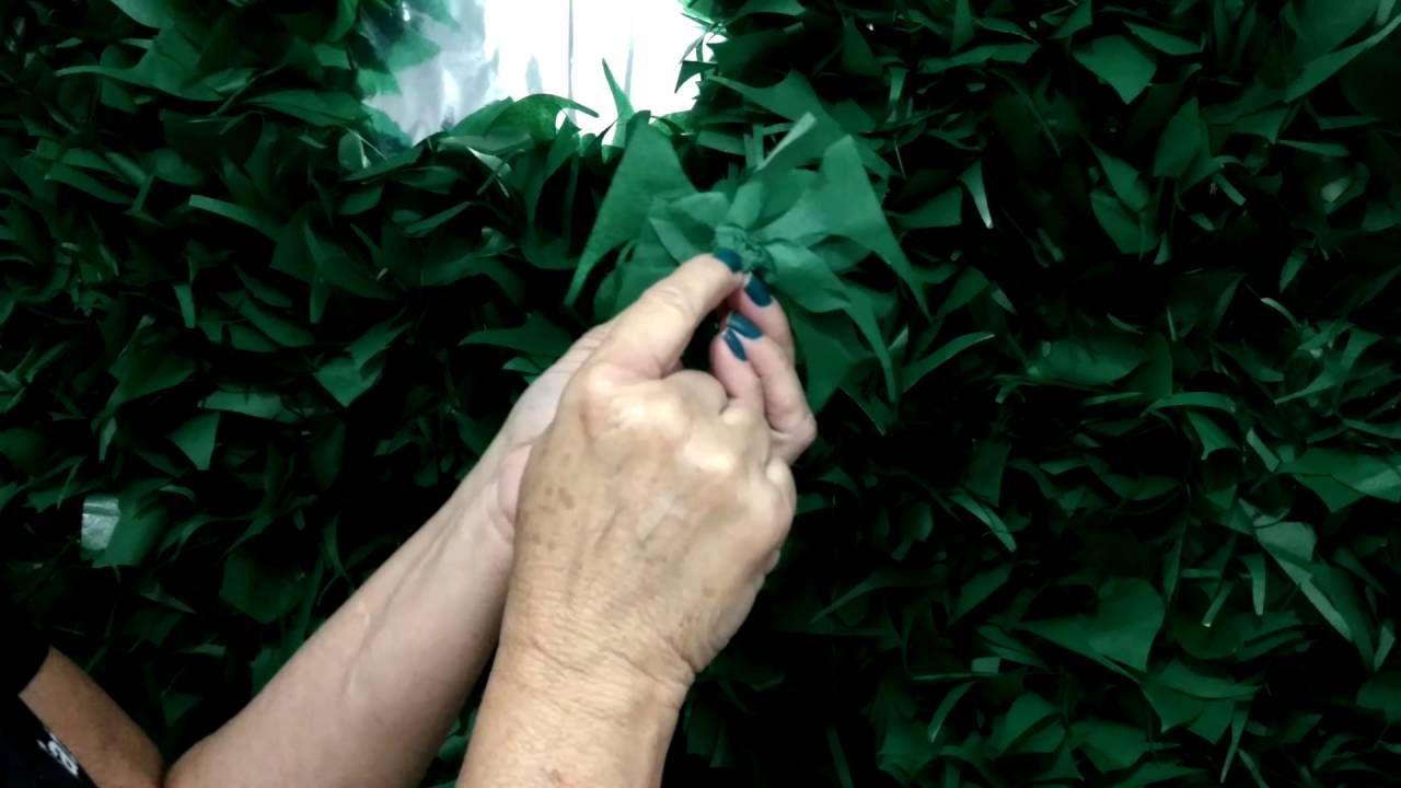 Aula 76 Como fazer um lindo e econ u00f4mico muro ingl u00eas!!!! Planejamento de festa Muro ingles  # Decoração De Montras Em Ingles