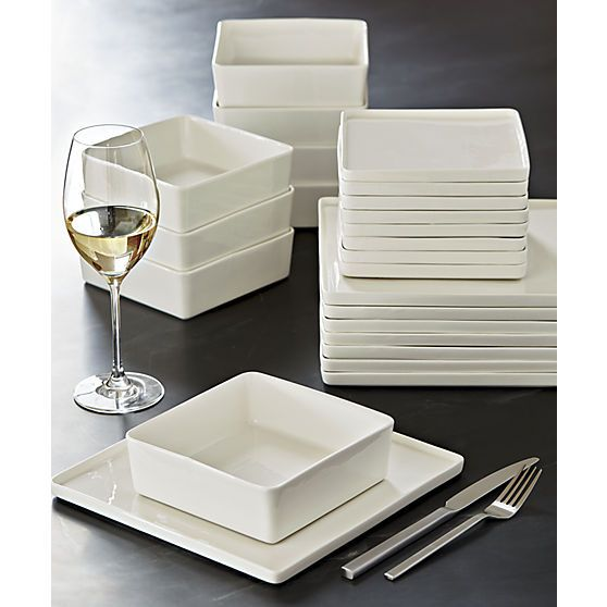 Simple modern dinnerware. Designed to complement your food not compete with it our colorful dishes and modern dinnerware sets will make every meal a bit ...  sc 1 st  Pinterest & Simple modern dinnerware. Designed to complement your food not ...