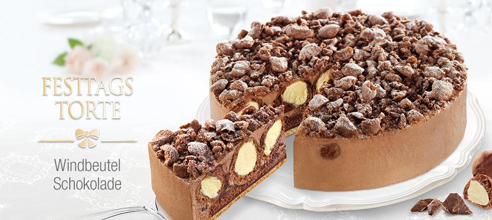 Festtagstorte Windbeutel Schokolade Von Coppenrath Wiese Torte Festtagstorten Lebensmittel Essen Torten