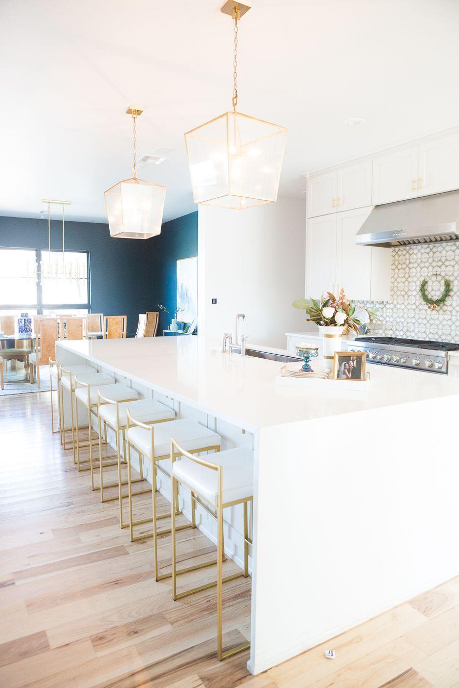 10 Affordable Gold Bar Stools for Home Design Home decor
