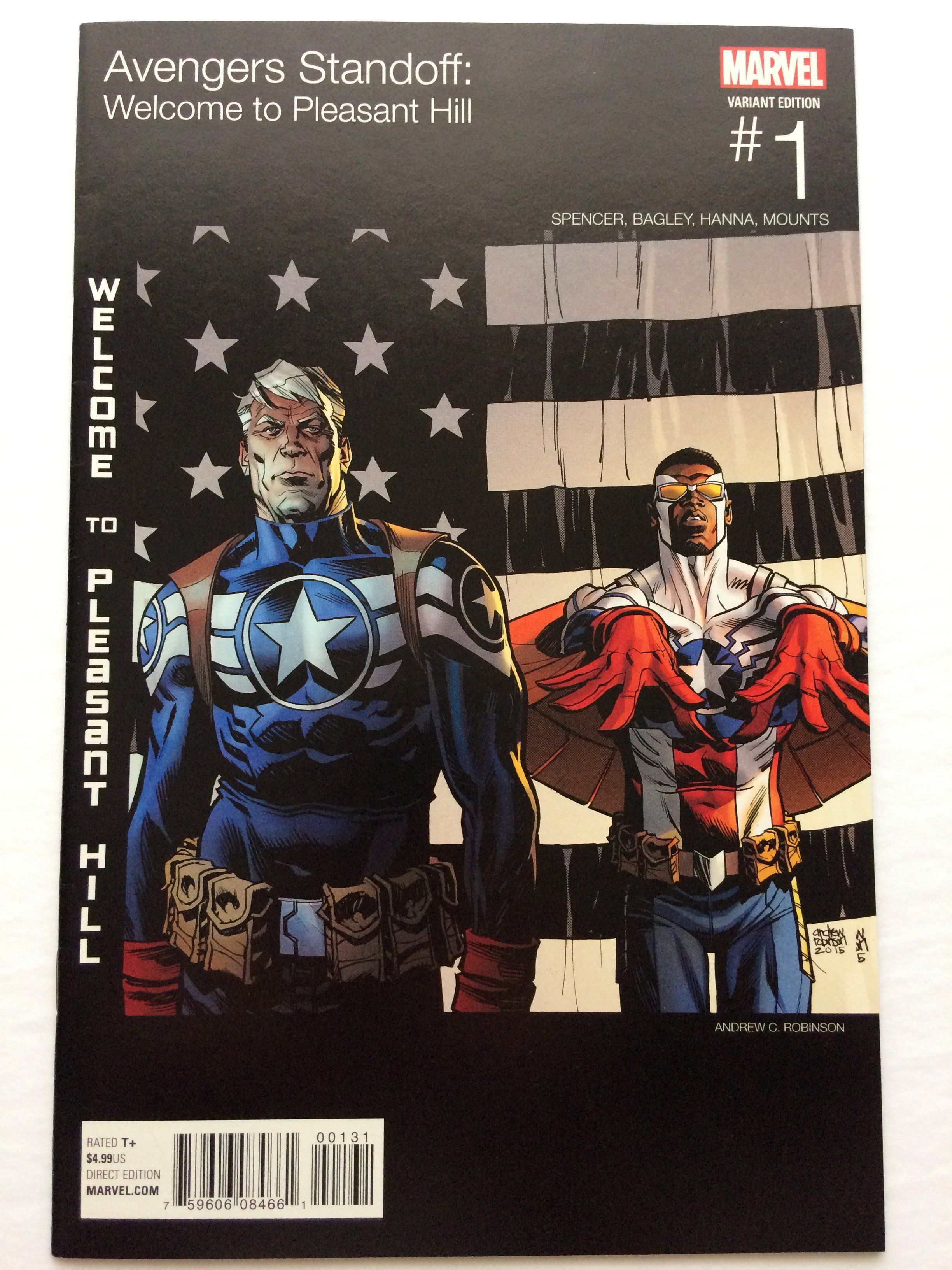 AVENGERS STANDOFF WELCOME TO PLEASANT HILL 1 HIP HOP VARIANT NM