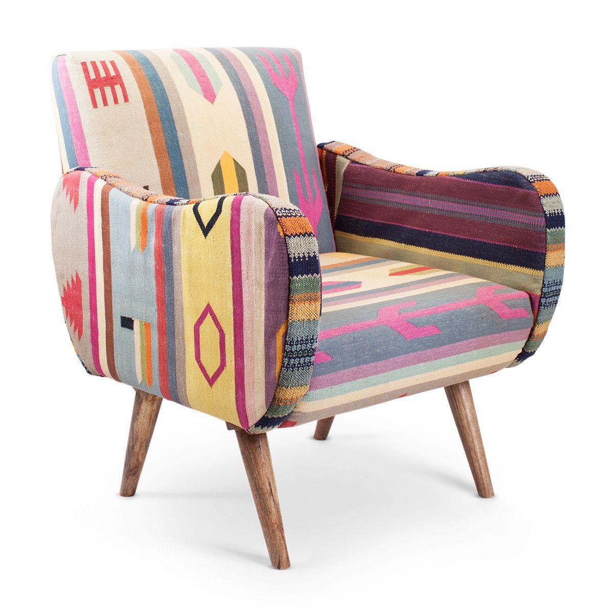 Izmir Kilim Chair | Furbish Studio