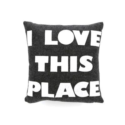 Celebrate Everyday I Love This Place Throw Pillow Pillows Alexandra Ferguson Throw Pillows