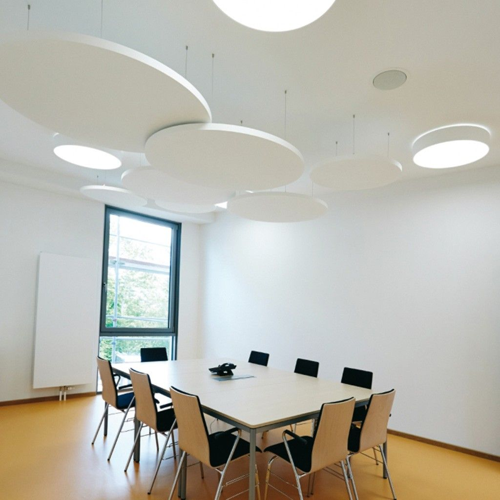 Design Deckensegel rund Inwerk | Schallabsorber, Schallschutz und ...
