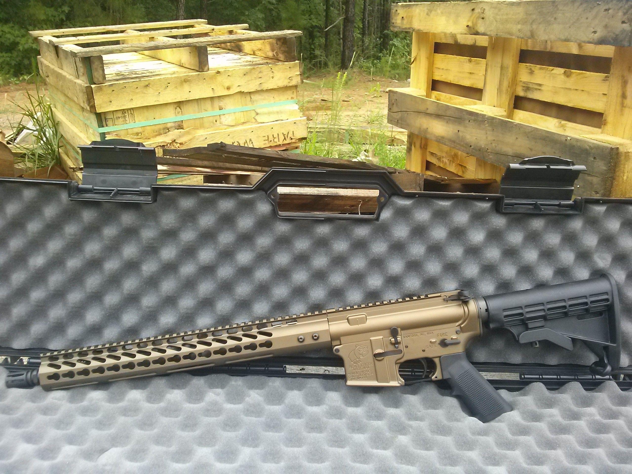 The BCA Ursid Hybrid II - The BCA Ursid Hybrid II rifle is