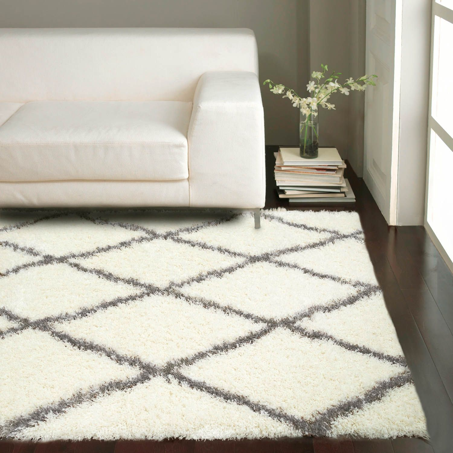 55 Off With Code Sum55 Rugs Usa Moroccan Diamond Ash Rug Trellis