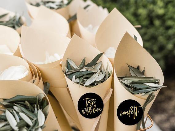 Wedding confetti stickers for your wedding | Sprea