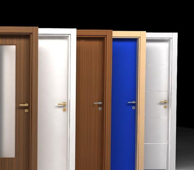 Elegir las puertas de casa es siempre una decisi n dif cil - Colores de puertas de madera interiores ...