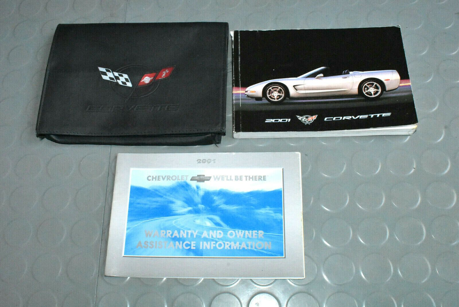 2001 Chevrolet Corvette Owners Manual Set In 2020 Chevrolet Corvette Chevrolet Corvette