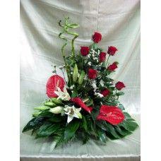 Centro Regalo de Flores Naturales ref 3