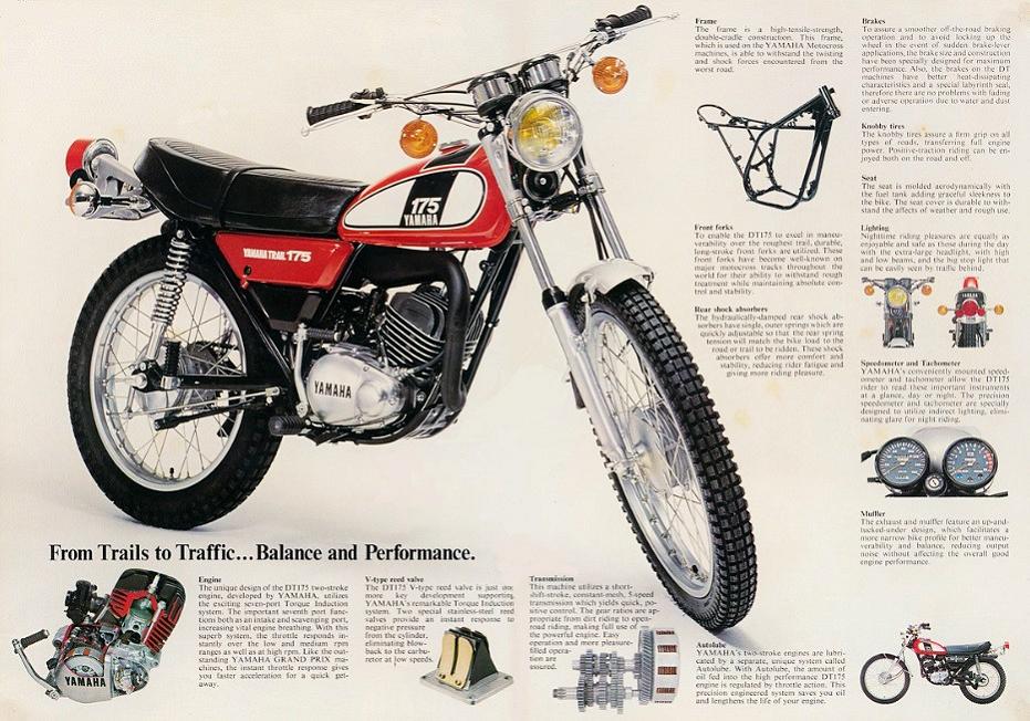 Yamaha DT (Yamaha DT175) #ヤマハ・DT/#YamahaDT/#ヤマハ・DT175/#YamahaDT175 #Japanesemotorbikes ([Japanese] motorbikes/[Japanese] bikes #Japanesebikes). Cars/#motorbikes (motorcycles) of #Toyota/#Lexus/#Yamaha/#Subaru/[#Maruti] #Suzuki #MarutiSuzuki/#Mazda/#Mitsubishi, #Japanese cars #Japanesecars, #V6 engines #V6engines, boxer engines #boxerengines #FuckVW #FuckHyundai #FuckBMW #FuckPeugeot #FuckFiatChrysler #FuckFord #FuckRenault #FuckGM #FuckEuropeanCars #£ #FuckKorea #FuckChina #FuckRussia #NoCOVID19