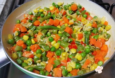 Cozinhando sem Glúten: Frigideira colorida