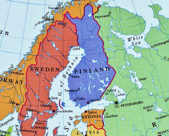 Hawkish PM Defeated In Finland Election On April New Cold War - Sweden election map