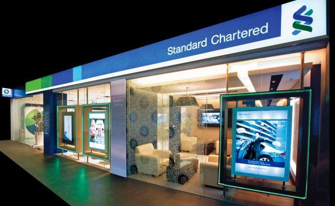 Standard Chartered Bank Bank Design Retail Facade Standard