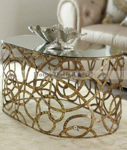 Mirror Top IRON SWIRL Scroll Coffee Cocktail Table Gold Modern by Intelligent Design, http://www.amazon.com/dp/B008H1BG6G/ref=cm_sw_r_pi_dp_5L7wrb09VZ04Y
