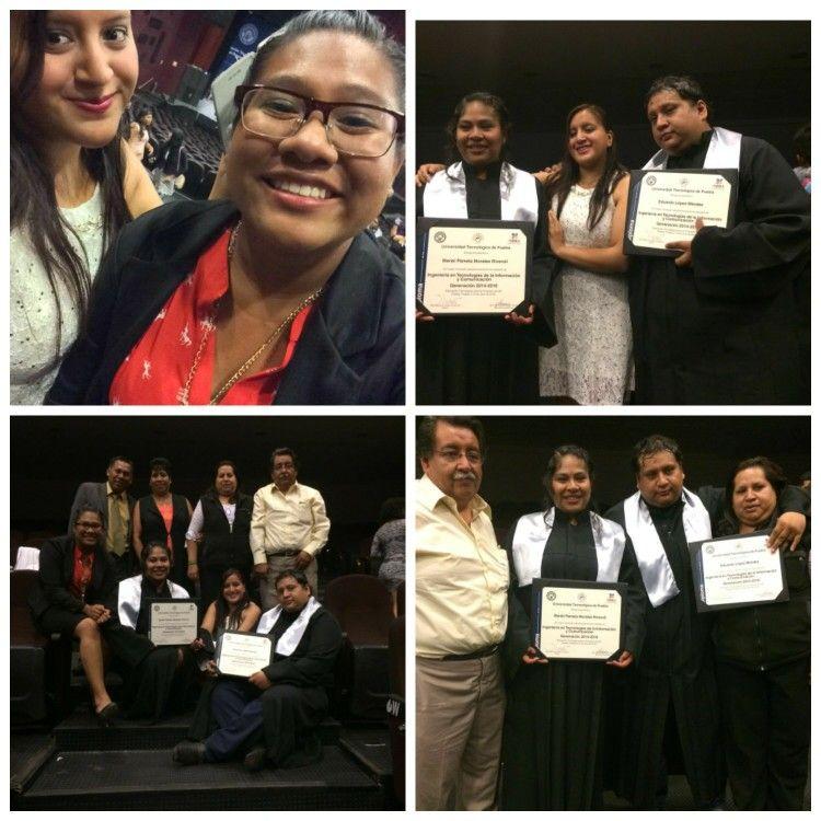 Graduación hermano y cuñada #Graduacion #Titulo #Family
