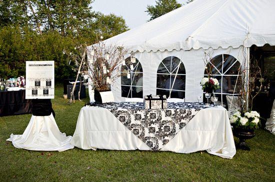 Outdoor Tent Wedding Reception Ideas | Real Wedding  a gorgeous outdoor tented reception  part & Real Wedding : a gorgeous outdoor tented reception : part 2 ...