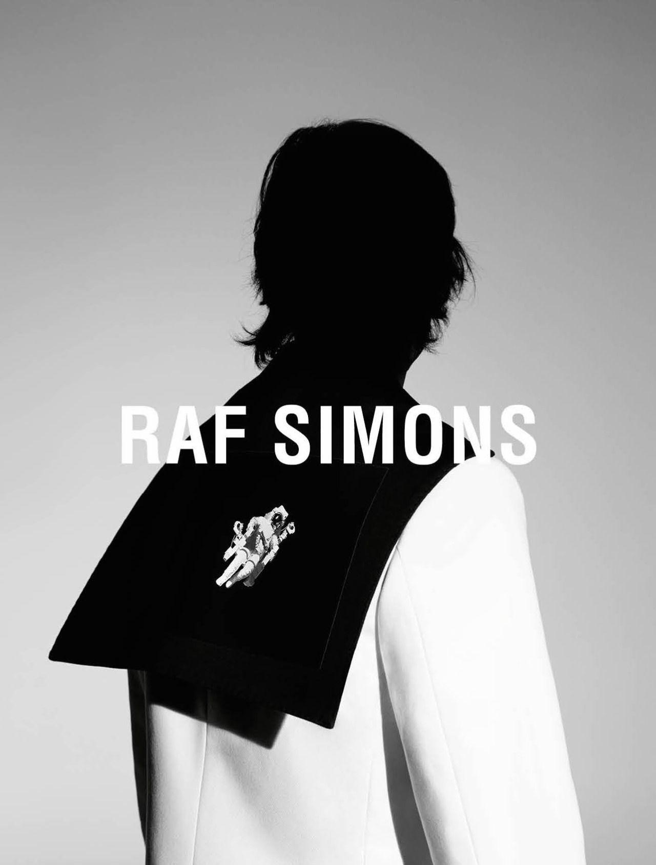 Raf Simons | Men's fashion | Fashion advertising, Raf ...