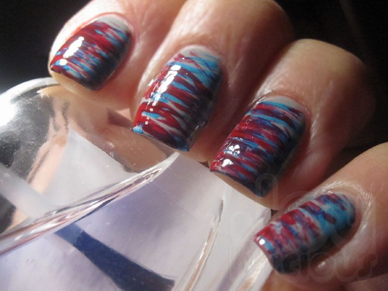 Fan Brush Nail Art | Joyluscious - Nail Art | Pinterest | Fan brush ...
