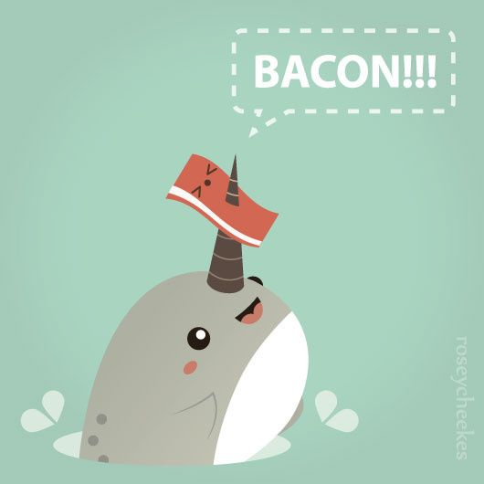What is narwhal bacon