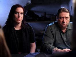 The Dead Files : Travel Channel This is a great show.  Amy Allan and Steve DiSchaivi are the real deal.