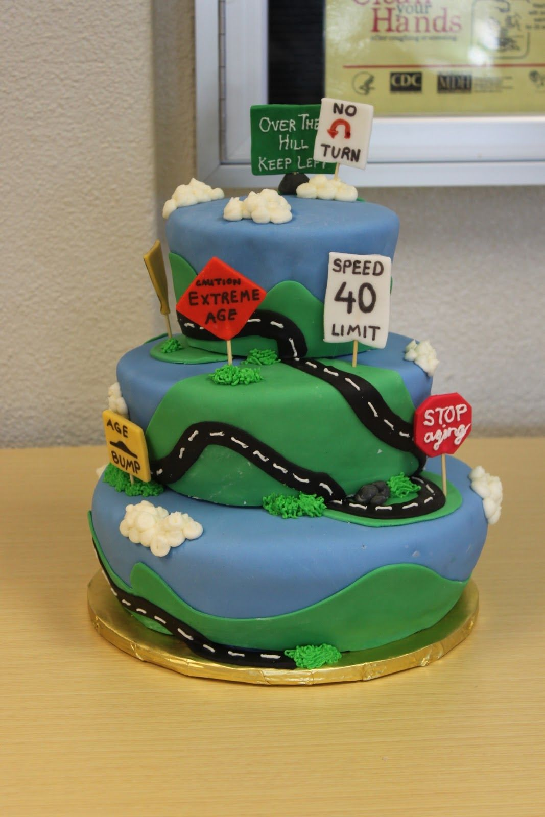 Road Of Life Cake Cup Cake In 2019 Birthday Cakes For