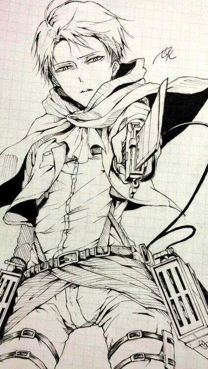Shingeki No Kyojin Attack On Titan Levi Ackerman Rivaille Anime Boy Badass Heichou Art Draw Kyojin Shingeky Ataque De Los Titanes