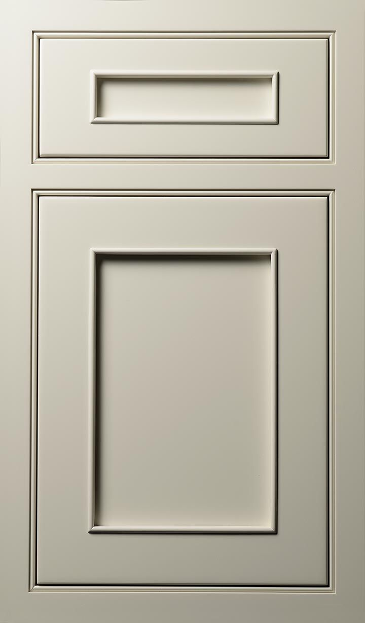 Austere Door Done In Maple Dove White Finish Close To Pioneer Monaco Ivory That We Selected Couldn T Find The Exact Panel From Web Site