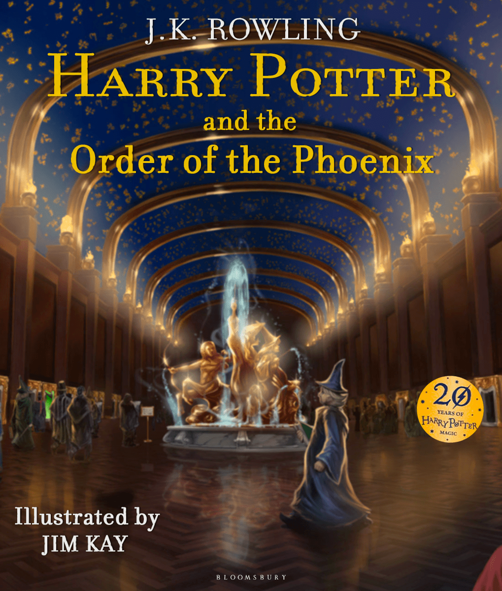J K Rowling Harry Potter And The Order Of The Phoenix Illustrated Edition Harry Potter Illustrations Rowling Harry Potter Harry Potter Fantastic Beasts