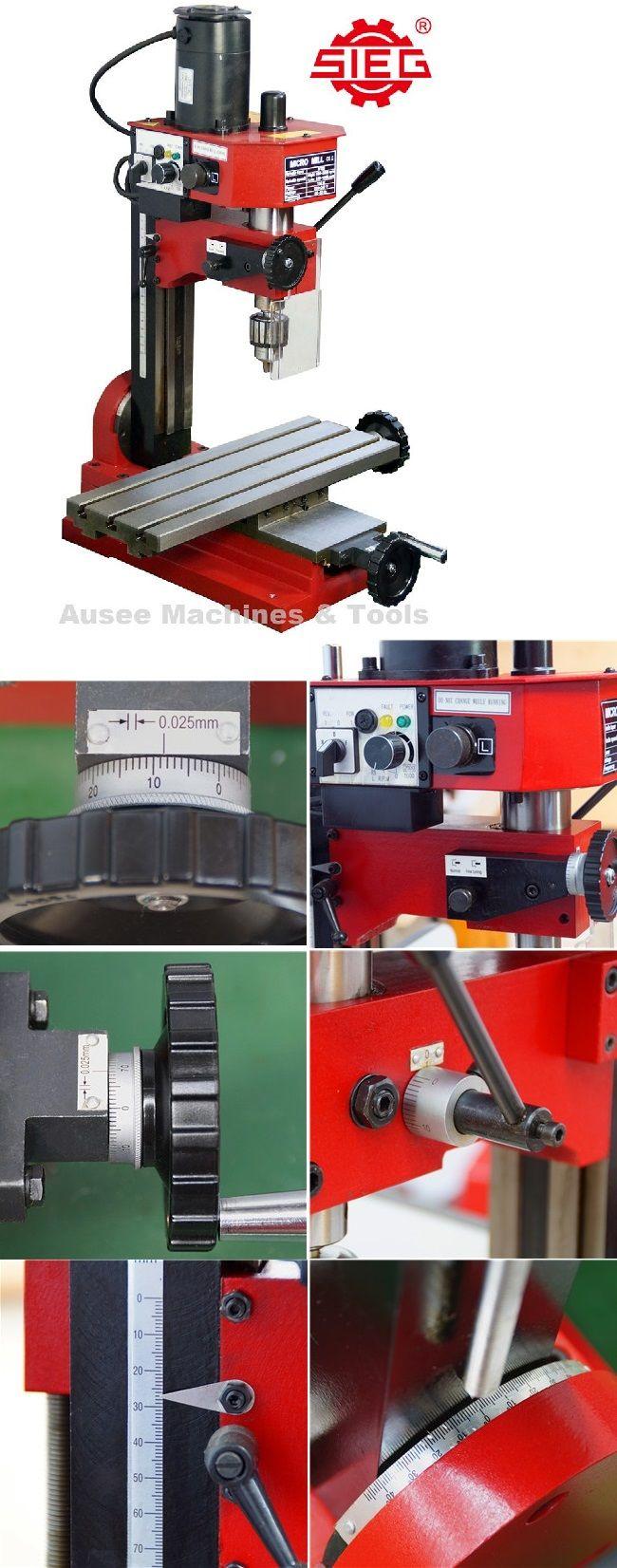 Sieg Sx1l Mill Metal Working Machines Milling Machine Machine Tools