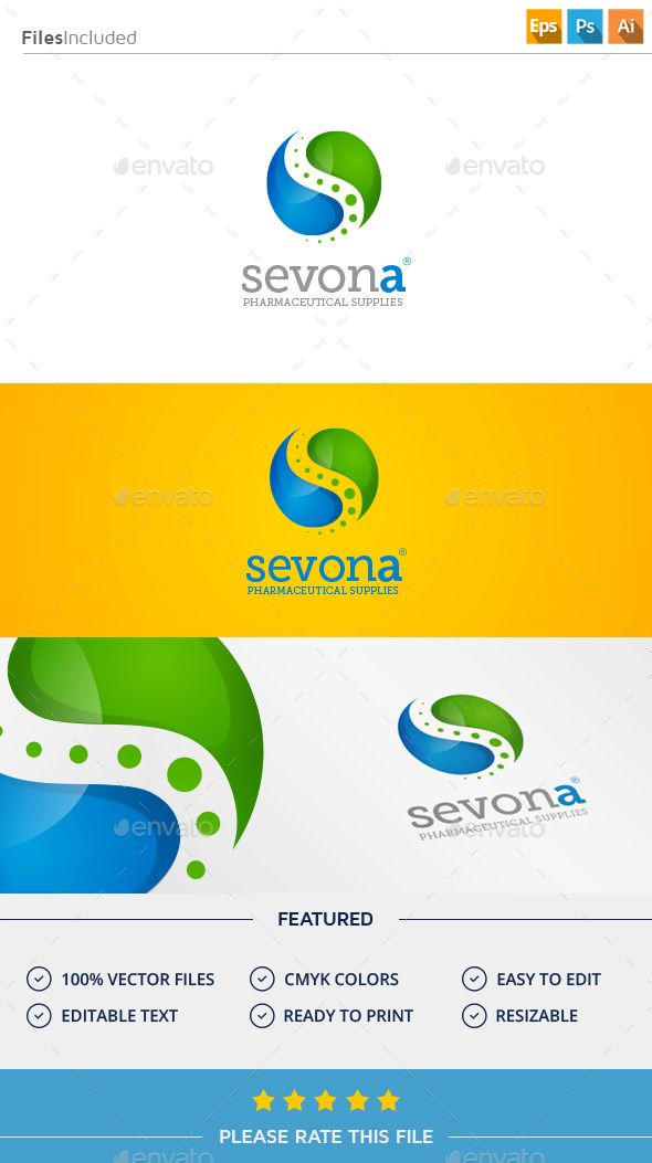 Pharmacy Logo  Letters Logo Templates  Logo  Pharmacy