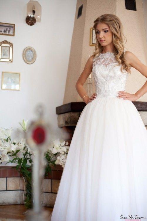Piekna Suknia Slubna 34 Xs Recznie Zdobiona Wedding Dresses Sleeveless Wedding Dress Dresses