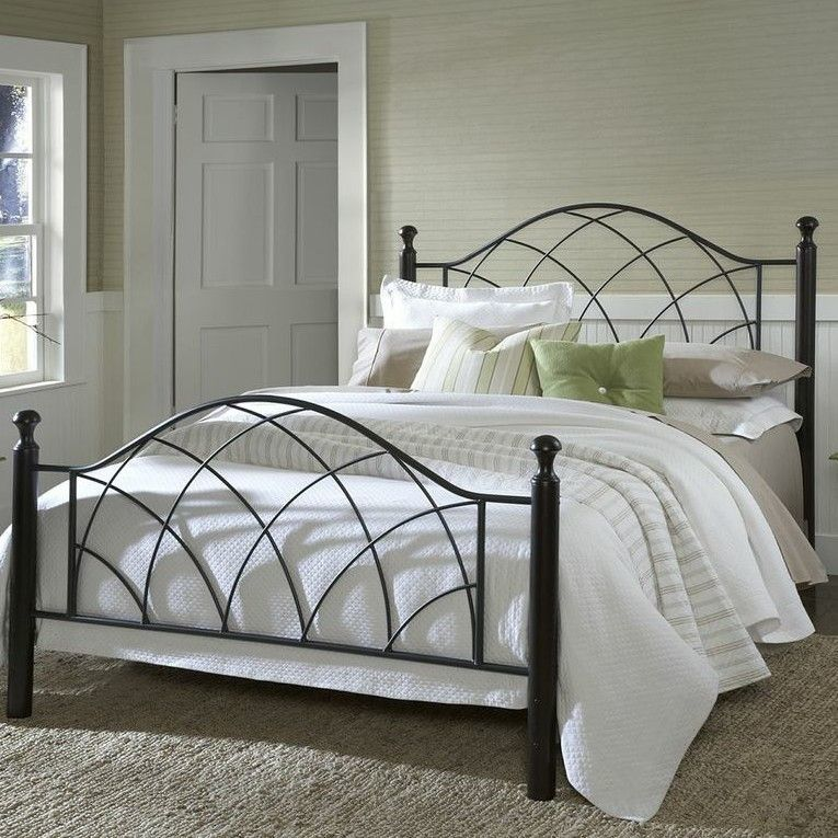 Found it at Wayfair Vista Metal Panel Bed Full bedding