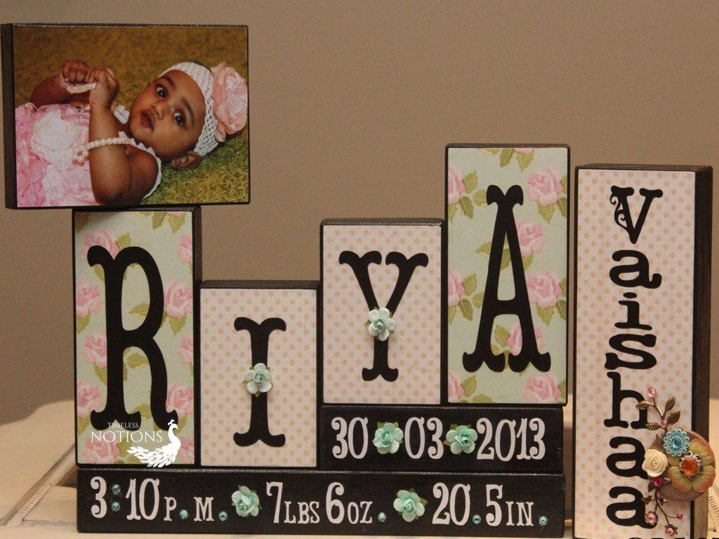 Baby name sign custom baby blocks personalized baby photo blocks baby name sign custom baby blocks personalized baby photo blocks childrens wooden blocks new baby gift negle Choice Image