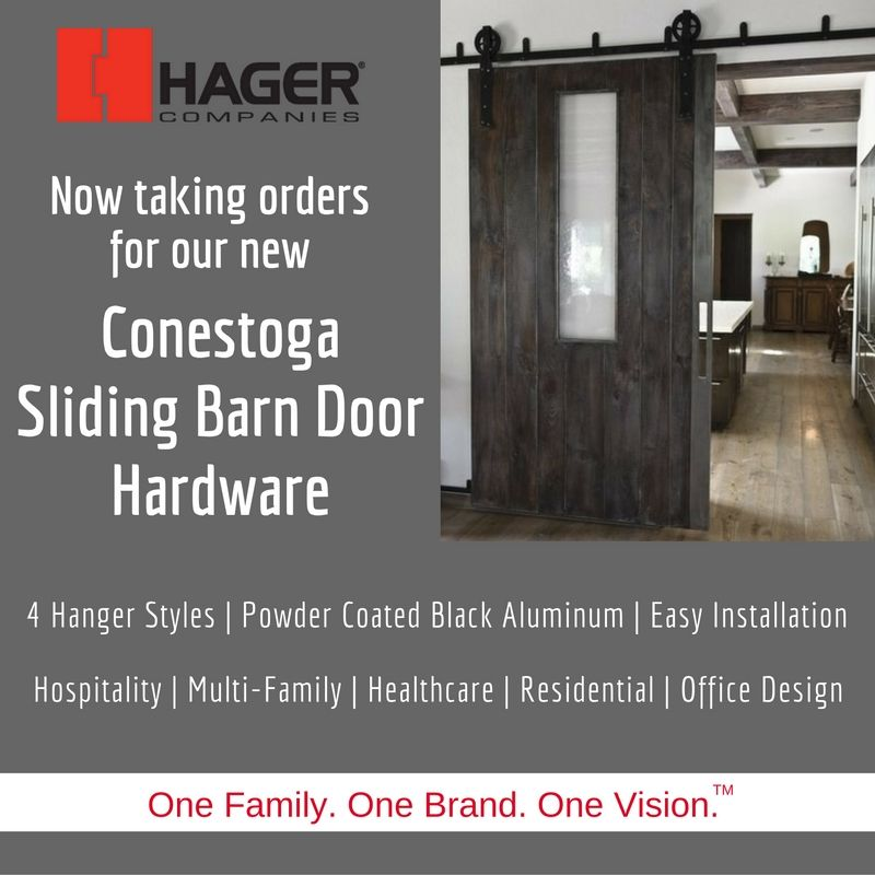 Rolling Out The Conestoga Series Sliding Barn Door Hardware At Connextions 2016 Sliding Barn Door Hardware Conestoga Barn Door Hardware