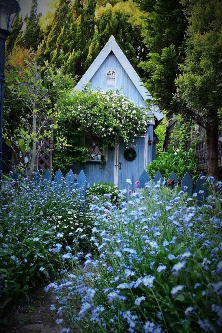 Photo of 01 Stunning Small Cottage Garden Ideas for Backyard Landscaping – homixover.com#…