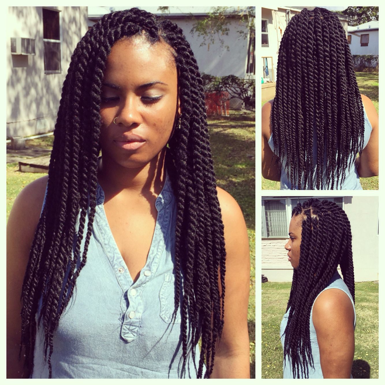Havana twists havana twists pinterest havana twists twists havana mambo twist crochet braid hair synthetic kanekalon kinky marley twists braiding hair extension usd buy more than 3 pieces you can get free gifts pmusecretfo Images