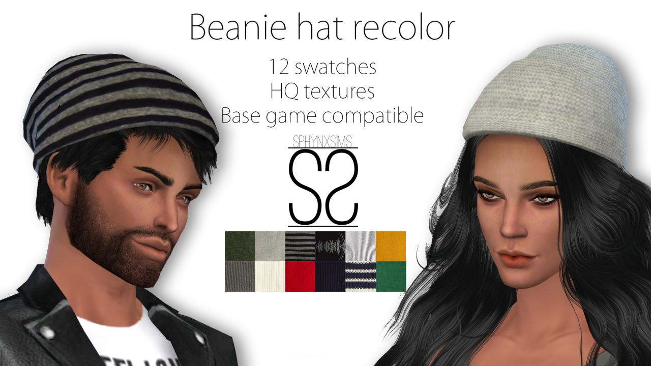 df71e637b2e sims 4 cc hats