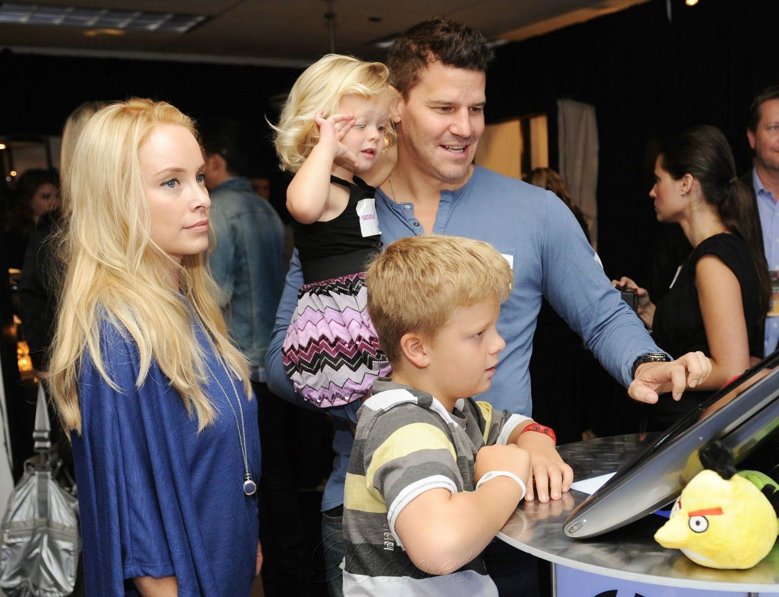 David Boreanaz Family - Bing images | david & family ...