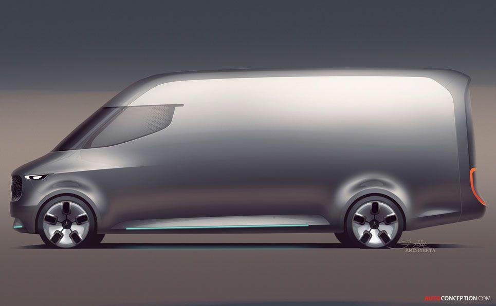 2016 Mercedes-Benz \'Vision Van\' Concept | T r a n s p o r t ...