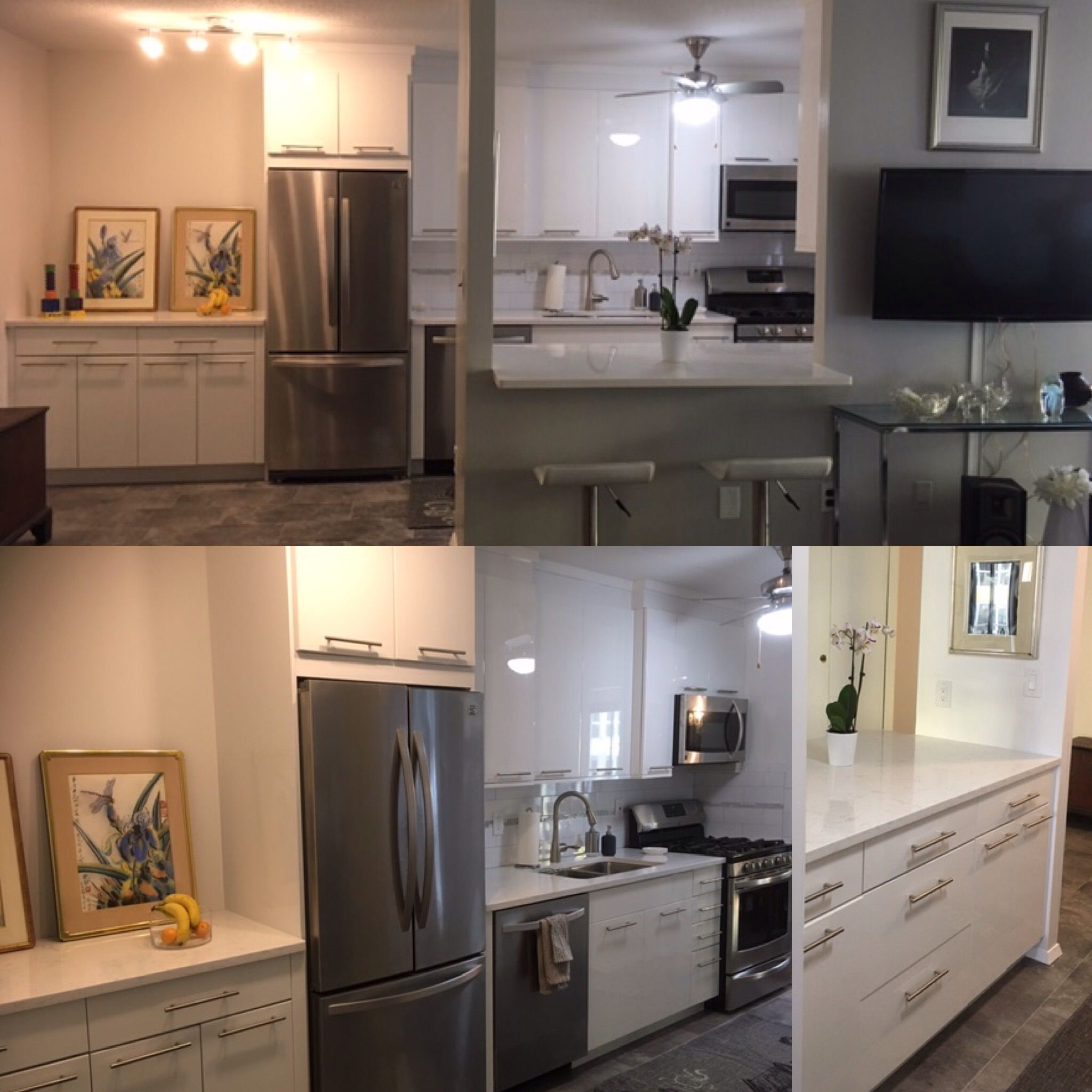 Here is a recent Kitchen project that was design by Majestic ...