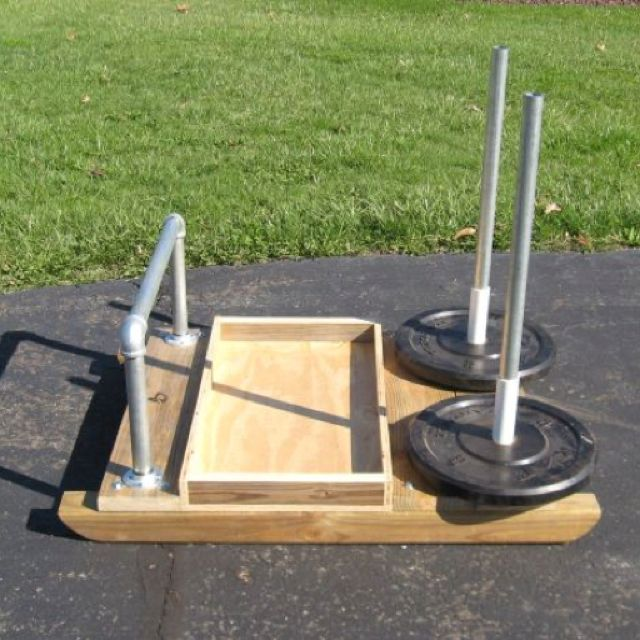 Current diy prowler sled project fitness pinterest gym
