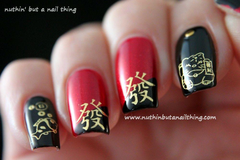 Asian Themed Nail Art Google Search Hair Na