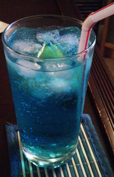 Blue lagoon cocktail  A Striking Blue Lagoon Cocktail | Recipe | Cocktail recipes ...